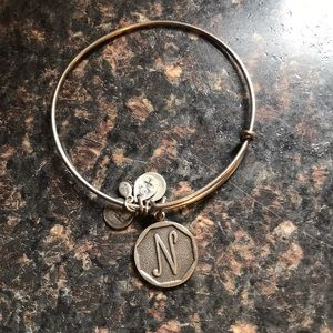 Alex & Ani Bangle - Letter N
